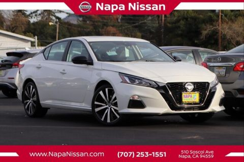 New 2020 Nissan Altima 2.5 SR FWD Sedan