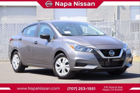 New 2020 Nissan Versa 1.6 S FWD Sedan