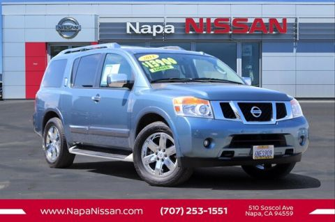 Pre-Owned 2011 Nissan Armada Platinum With Navigation