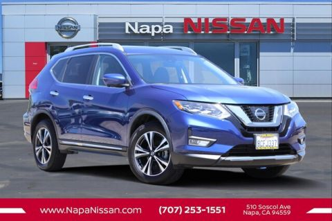 Certified Pre-Owned 2017 Nissan Rogue SL With Navigation & AWD