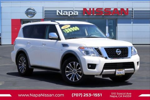 Pre-Owned 2017 Nissan Armada SL With Navigation & AWD